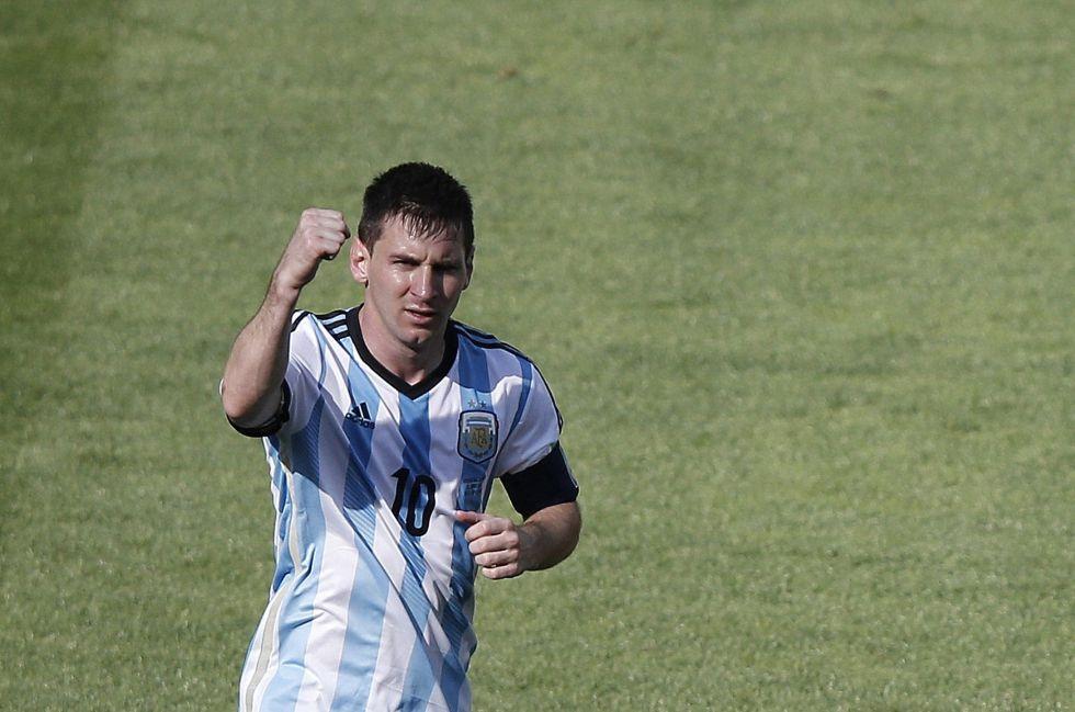 argentina iran messi