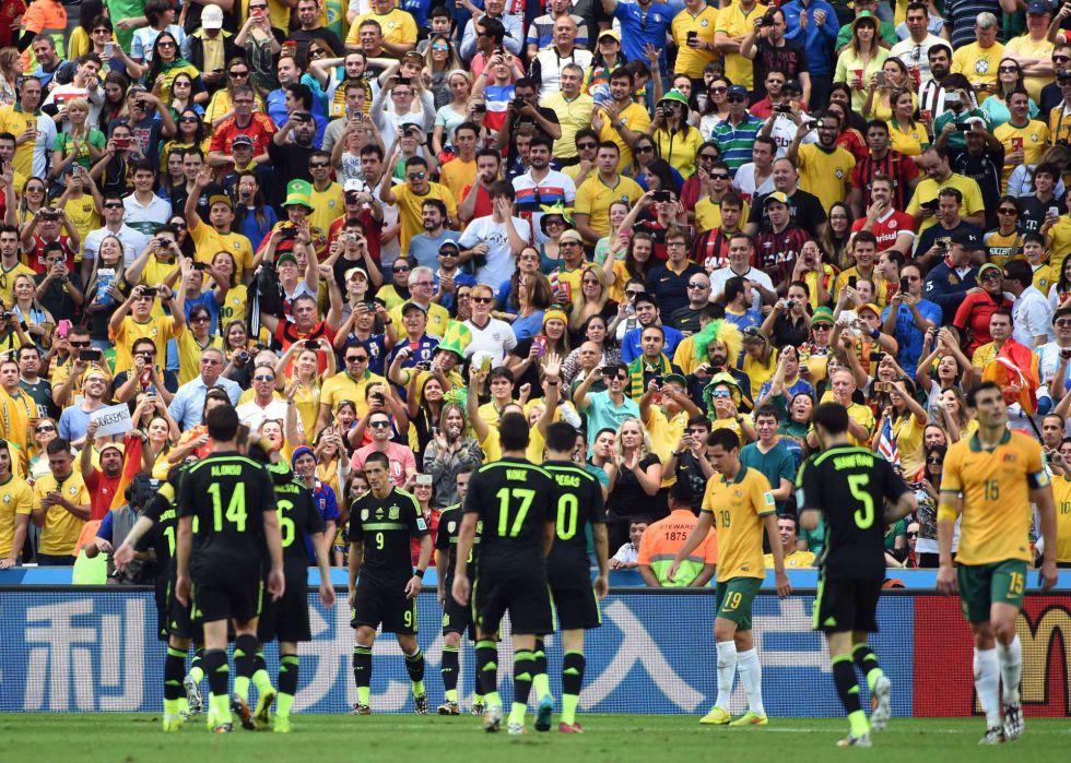 españa australia gol